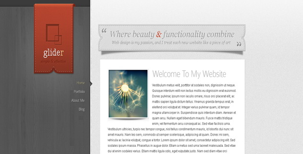 Glider - WordPress Theme