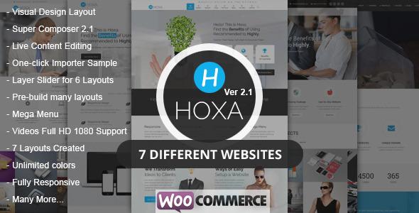 Hoxa - MultiPurpose WordPress Theme