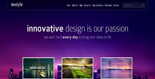 InStyle - WordPress Theme