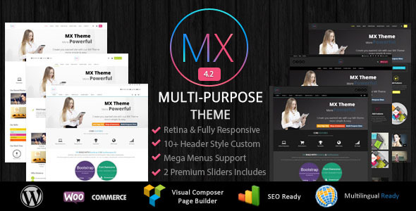 MX - Responsive Multi Purpose WordPress Theme
