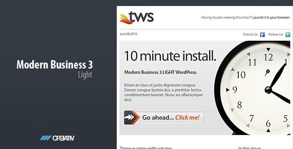 Modern Business 3 LIGHT - Email Templates