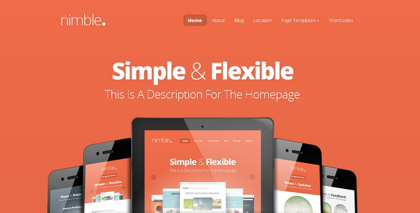 Nimble - WordPress Theme
