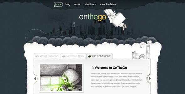 OnTheGo - WordPress Theme