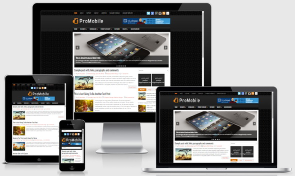 ProMobile Blogger Template