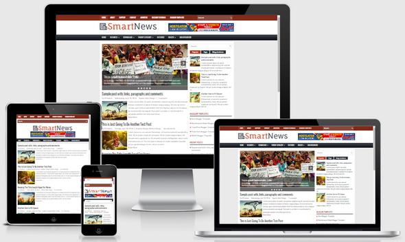 SmartNews Blogger Template