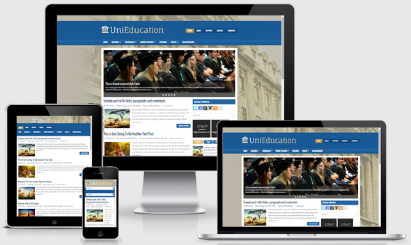 UniEducation Blogger Template