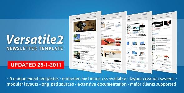 Versatile 2 - Newsletter