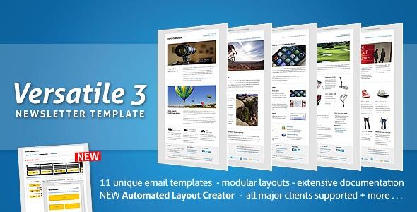 Versatile 3 - Newsletter