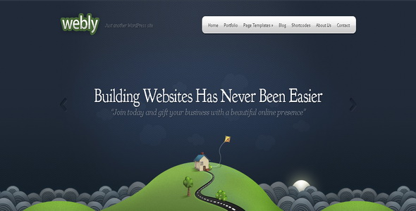 Webly - WordPress Theme