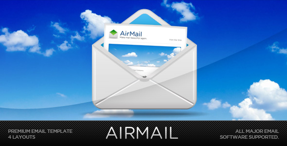 Airmail - Customizable Email Template
