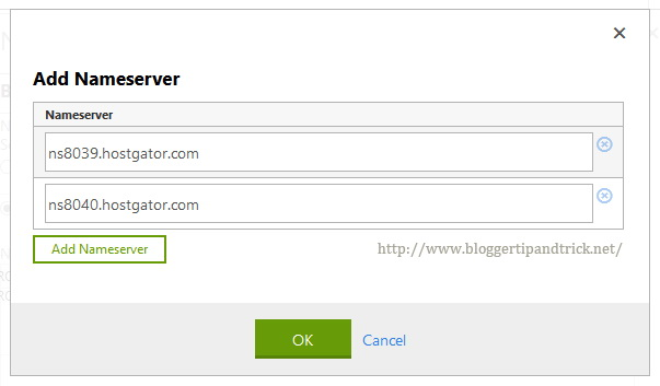 Add Your New Nameservers to GoDaddy Domain