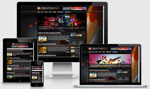 CreativePro Blogger Template