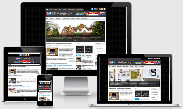 EstateAgency Blogger Template