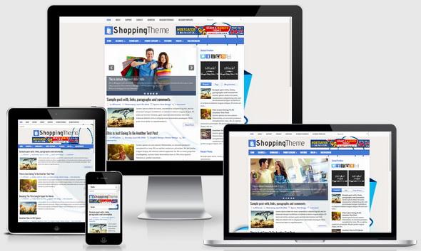 ShoppingTheme Blogger Template