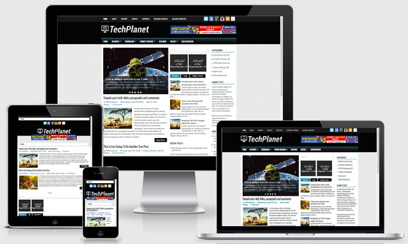 TechPlanet Blogger Template