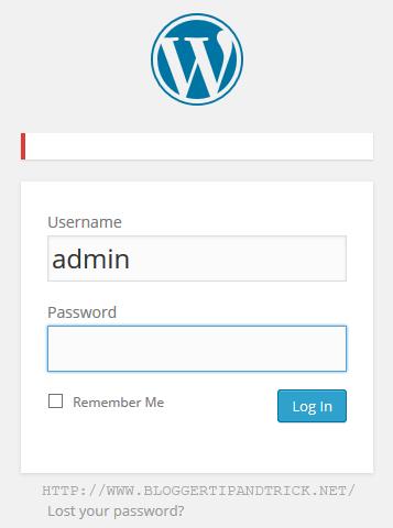 Hide WordPress Login Error