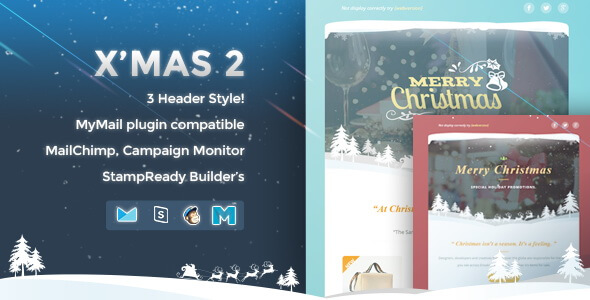Xmas 2 - Responsive Email Template