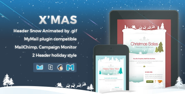 Xmas - Responsive Email Template