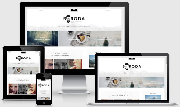 Boroda WordPress Theme