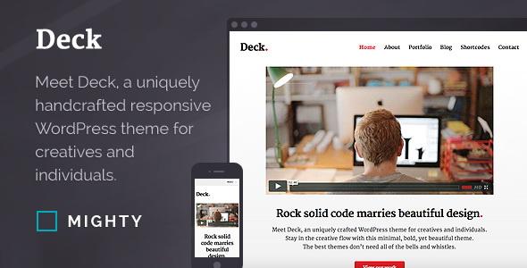Deck - WordPress Theme