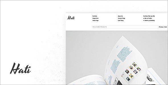 Hati - WordPress Theme