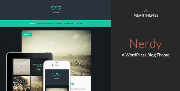 Nerdy - A WordPress Blog Theme