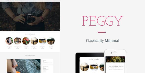 Peggy - A Responsive WordPress Blog Theme