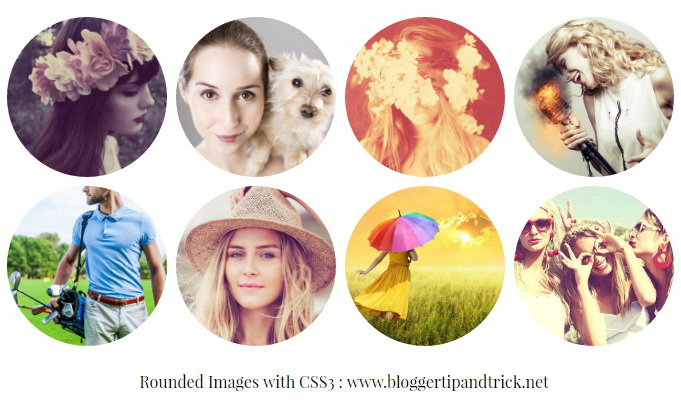 Rounded Images with CSS3
