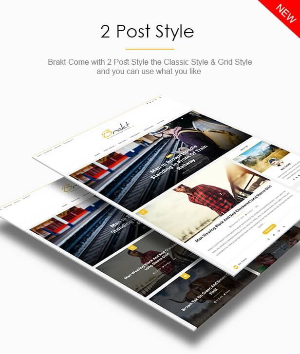 Post Styles - Brakt Blogger Template