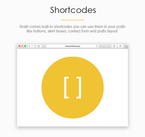 Shortcodes - Brakt Blogger Template