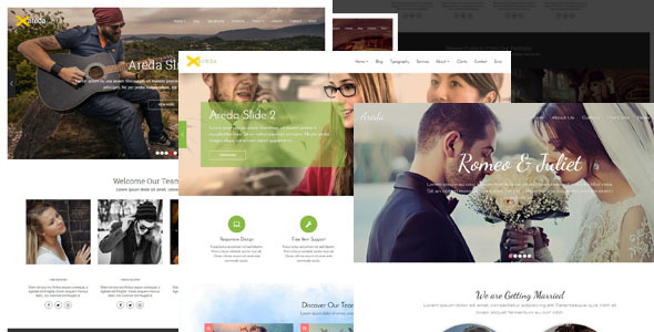 Areda Blogger Template