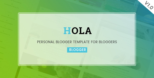 Hola Blogger Template