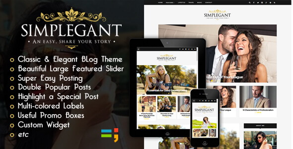 Simplegant Blogger Template