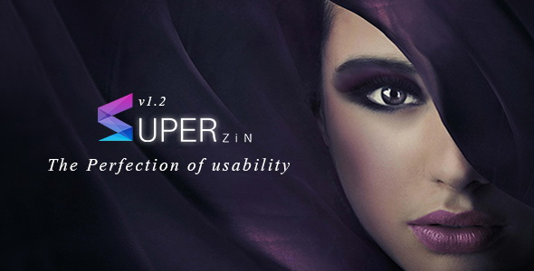 Superzin Blogger Template