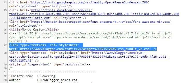 Blogger Default CSS Bundle