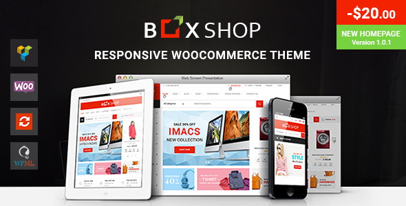 BoxShop - Responsive WordPress Theme