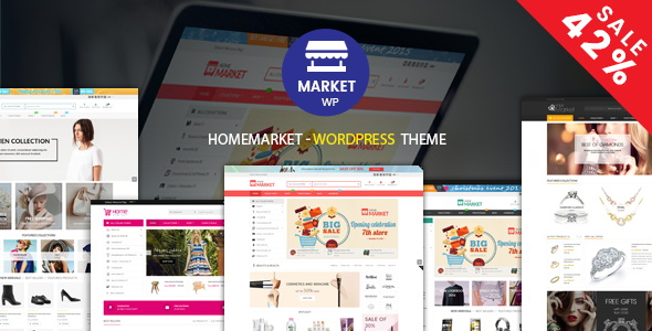 HomeMarket - eCommerce WP Theme