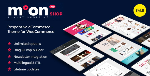 Moon Shop - Responsive eCommerce WordPress Theme