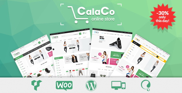 VG Calaco - Clothing and Fashion WordPress Theme
