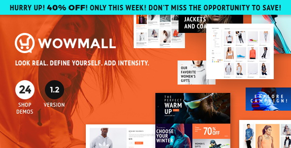WOWmall: Fastest Responsive WordPress Theme