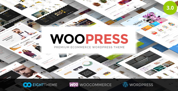 WooPress - Responsive Ecommerce WordPress Theme