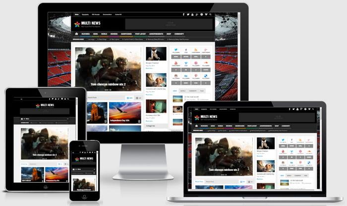 Multinews WordPress Theme
