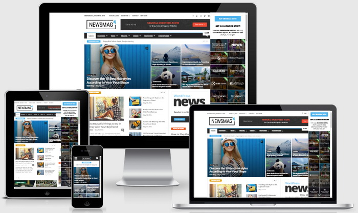 Newsmag WordPress Theme