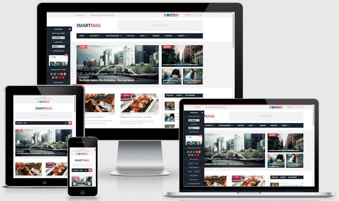 SmartMag WordPress Theme